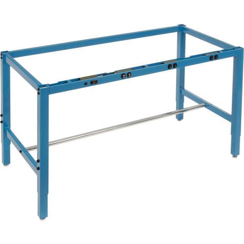 """96""""W x 30""""D Workbench Frame w/ Electric-Blue"""