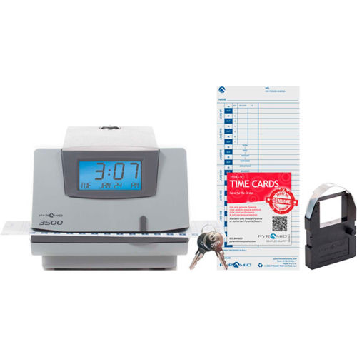 Time Clock, Document and Job Recorder by