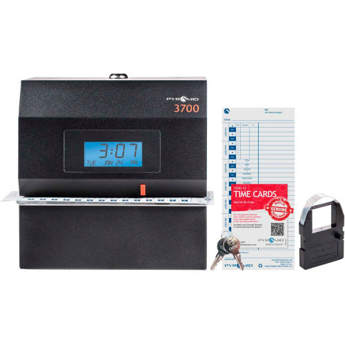 Heavy-Duty Time Clock, Document and Job Recorder by