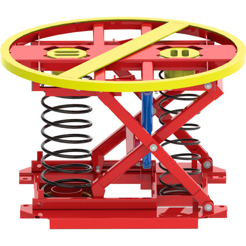 Southworth PalletPal 360 Spring-Actuated Pallet Carousel Skid Positioner by