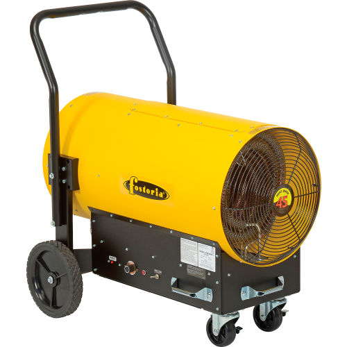 heaters | portable electric | tpi fostoria salamander heater portable  electric fes-4548-3 - 45kw 480v 3 phase yellow | 258344 -  globalindustrial com