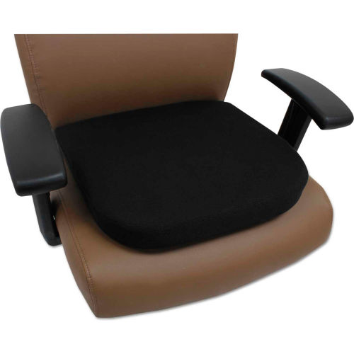 Chairs Cushions Accessories Alera 174 Cooling Gel Memory Foam Seat Cushion 16 1 2 X 15 3 4 Black B2223967