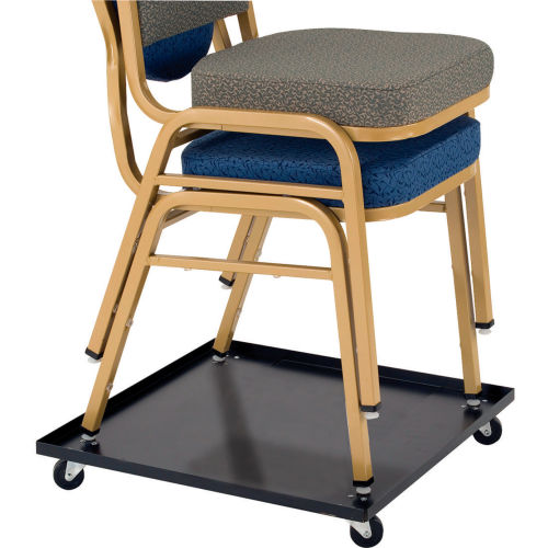 Universal Dolly for Multi-Purpose Stacking Chairs by