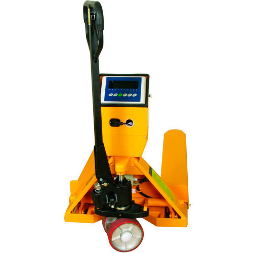 Wesco Pallet Jack Scale Truck 272936 27-1/2 x 47-1/2 5000 Lb. Capacity by