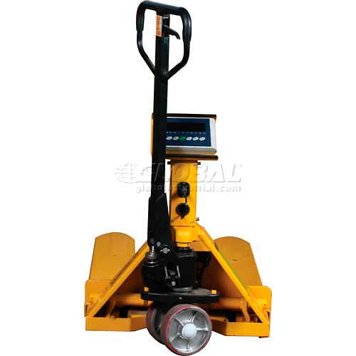 Wesco Pallet Jack Scale Truck 272938 22-1/2 x 47-1/4 5000 Lb. Capacity by