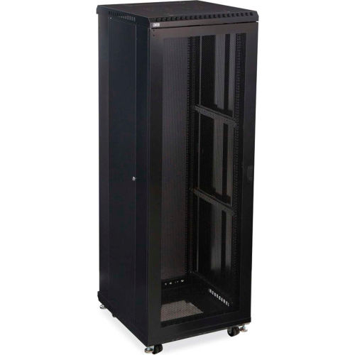 Computer Furniture | Network Cabinets U0026 Server Racks | Kendall  Howardu0026#8482; 37U LINIERu0026#174; Server Cabinet   Vented/Vented Doors    24u0026quot; ...