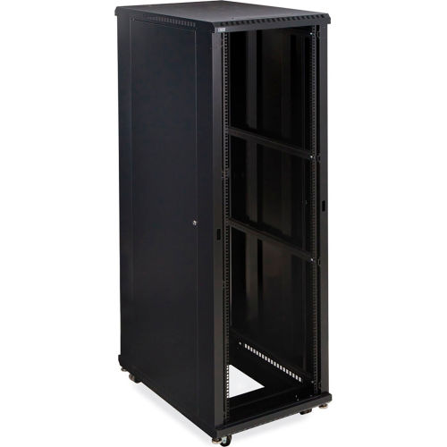 Computer Furniture | Network Cabinets U0026 Server Racks | Kendall  Howardu0026#8482; 37U LINIERu0026#174; Server Cabinet, No Doors, 36u0026quot; Depth |  B2117191 ...