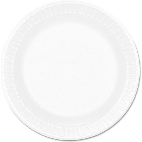 "Dart 6PWCR, Foam Plate, 6"" Dia., White, 1000/Carton by"
