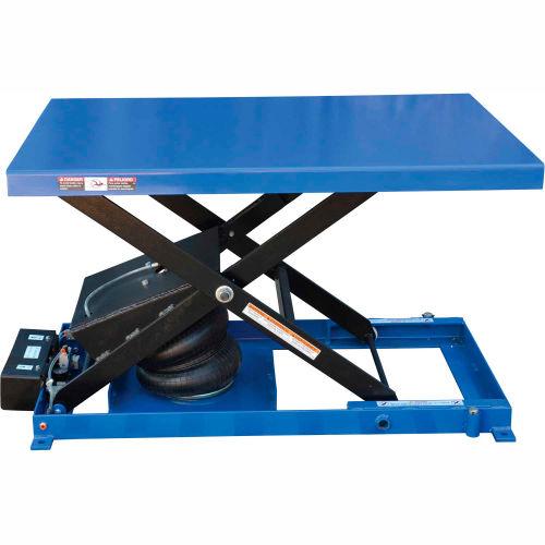 Vestil Air Bag Scissor Lift Table ABLT-1000 48 x 32 1000 Lb. Capacity by