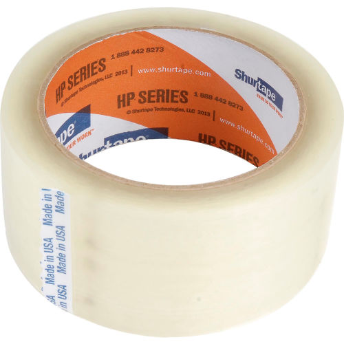 18 ROLLS 2 INCH x 55 Yards 165 ft Clear Carton Sealing Packing Package Tape US
