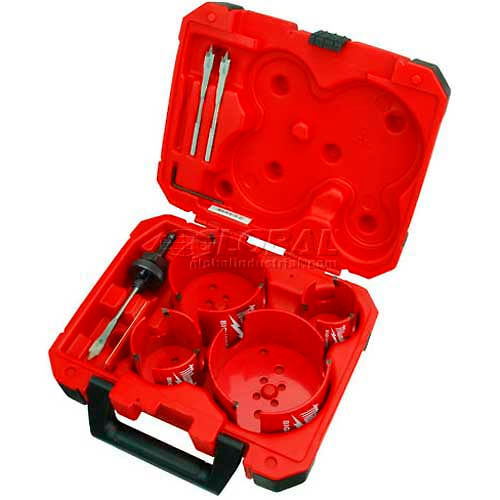 Milwaukee 49-56-9080 8Pc. Big Hawg Hole Cutter Plumber