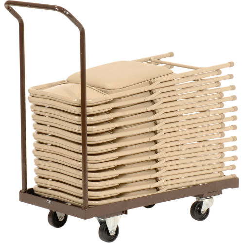 Folding Chair Cart Holds 24 by