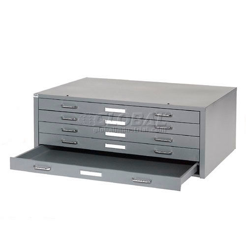 Deluxe Steel Flat File (Gray)
