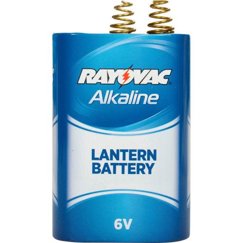 Lot of 6 Rayovac 6V Spring Terminal Alkaline D Cell Lantern Battery