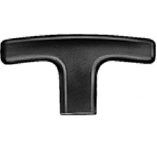 J.W. Winco 563-67-5/16X18 Technopolymer T-Handle Tapped mm Diameter 67mm Length 5/16-18 by