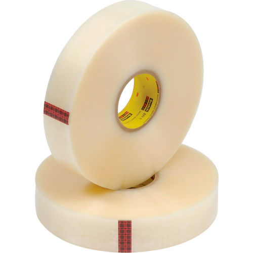 "1 Roll 3M Scotch 371 Machine Tape RED Box Sealing 2/"" x 1000 Yards"