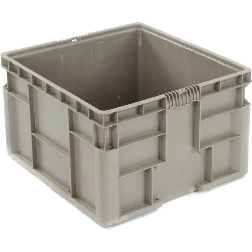 Bins Totes Containers Containers Stacking Straight Wall Container Solid Stackable Nrso2422 14 24 X 22 1 2 X 14 1 2 652747 Globalindustrial Com