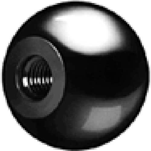 J.W. Winco DIN319-KT Thermoplastic W/Zinc Insert Ball Knobs Tapped 25mm Dia. mm Length... by