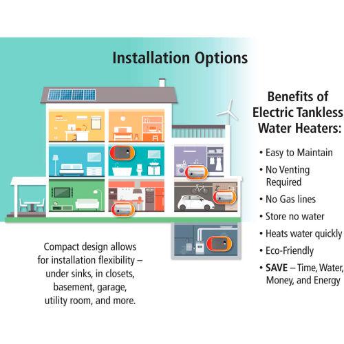 Atmor Water Heater Wiring Diagram from images.globalindustrial.com