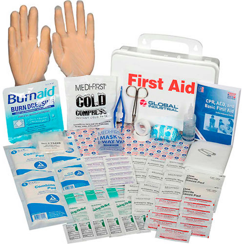 First Aid | First Aid Kits | Global Industrial First Aid Kit