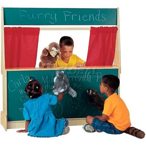 Jonti-Craft Imagination Station Chalkboard by