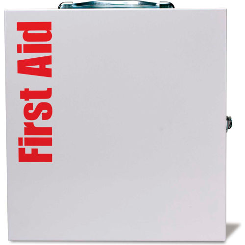 First Aid Only 746000 Large SmartCompliance Metal Cabinet, ANSI Compliant, Class...