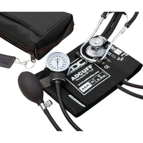 ADC Pro's Combo II SR Pocket Aneroid/Sprague Kit, Adult, Black by
