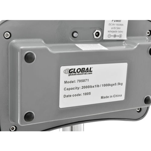 Scales | Scales-Crane & Hanging | Global Industrial™