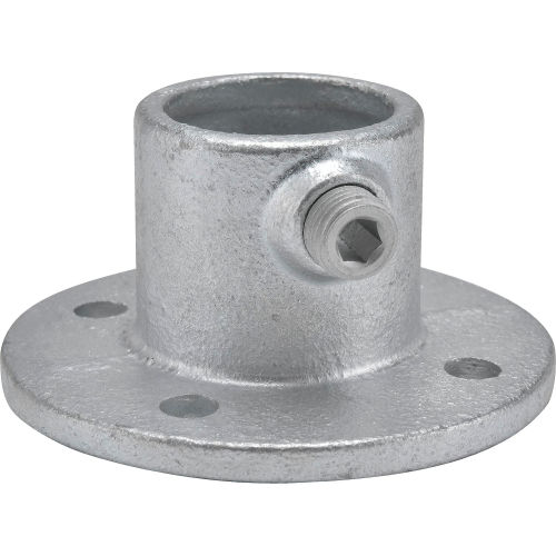 Medium Flange 2 Inch Pipe Malleable Iron Pipe Rail Fitting Kee