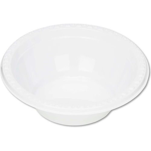 Tablemate TBL5244WH, Plastic Bowls, 5 oz., White, 125/Pack by