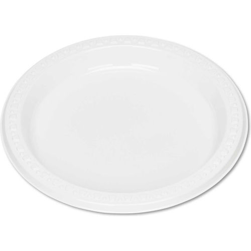 """Tablemate TBL7644WH, Plastic Plates, 7"""" Dia., White, 125/Pack by"""