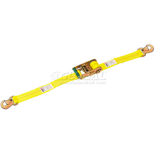 Lift-All 60505 Cargo Control Load Binder Straight Style Snap Hook 27' Long by