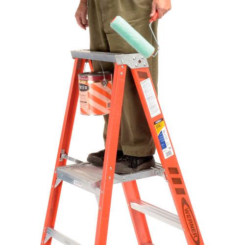 Marvelous Ladders Fiberglass Step Ladders Werner 3 Fiberglass Machost Co Dining Chair Design Ideas Machostcouk