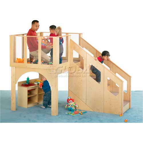 Jonti-Craft Tots Loft For 24-36 Months Kids by