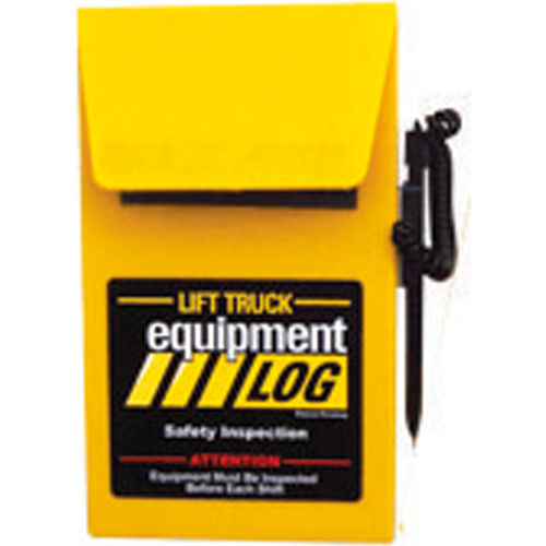 Replacement Log Book 70-1065-1 for IRONguard Electric Counterbalance Forklift Log by