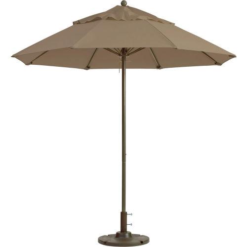 Grosfillex 9' Outdoor Umbrella Linen Windmaster Series by