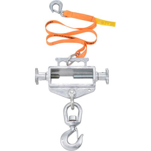 Global Industrial Single Fork Forklift Hook Attachment 4000 Lb. Cap. Swivel Hook by