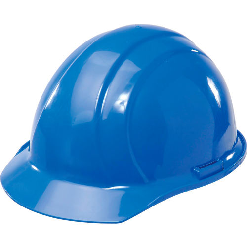 Click here to buy ERB 19766 Americana Hardhat, 4-Point Pinlock Suspension, Blue.