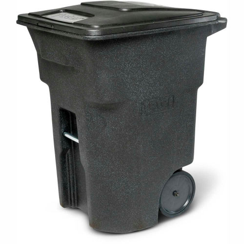 6f24d287277fff Garbage Can & Recycling | Mobile | Toter Heavy Duty Two-Wheel Trash Cart, 96  Gallon Black - ANA96-00BKS | B1916464 - GlobalIndustrial.com
