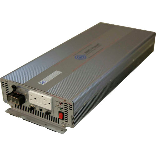 AIMS Power 3000 Watt Pure Sine Power Inverter with GFCI, PWRIG300012120S by