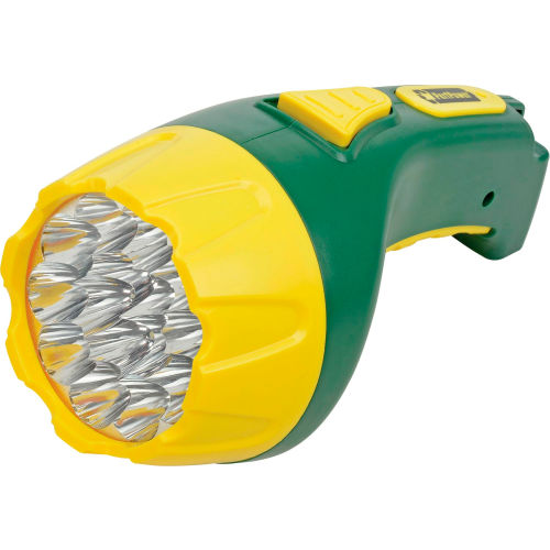 Power By GoGreen GG-113-15RC 15-LED Rechargeable Flashlight by