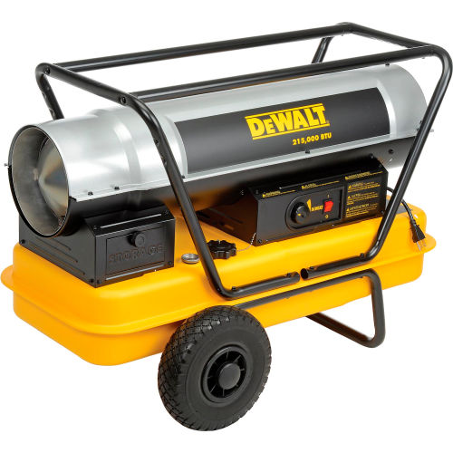 DeWALT Heavy Duty Forced Air Kerosene Heater DXH215HD 215,000 BTU by Kerosene Heaters