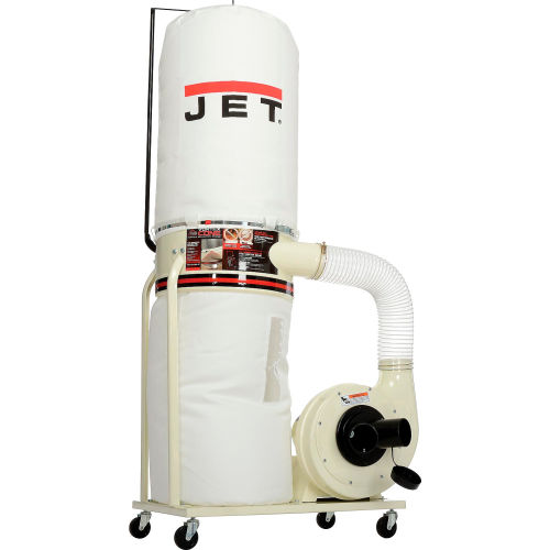 Jet DC-1100VX-BK Dust Collector 1.5HP 1PH 115//230-Volt 30-Micron Bag Filter Kit