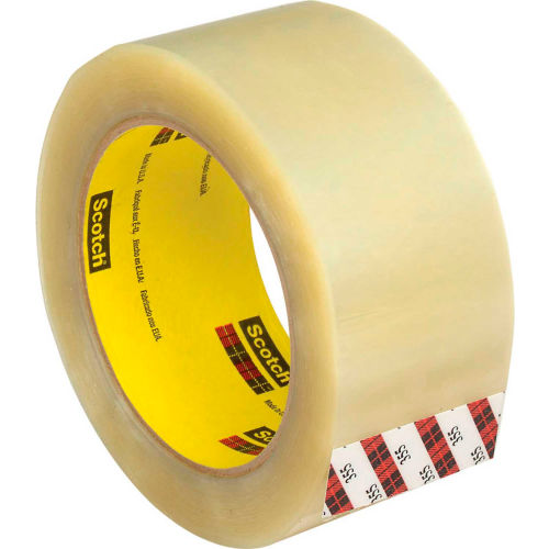 """3M Scotch 355 Carton Sealing Tape 3"""" x 55 Yds. 3.5 Mil Clear Package Count 36 by"""