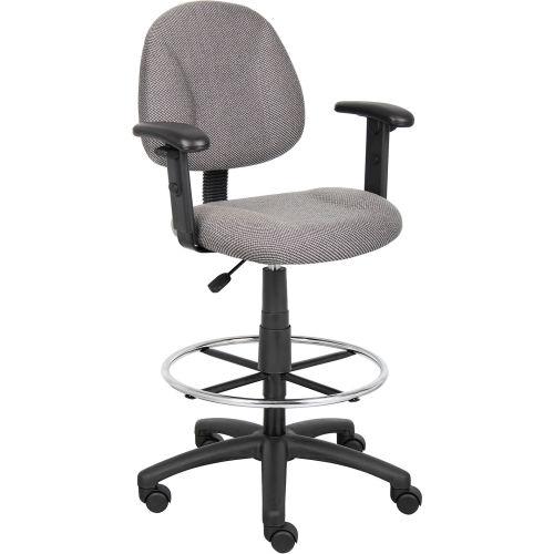 Superb Stools Fabric Upholstered Boss Drafting Stool With Creativecarmelina Interior Chair Design Creativecarmelinacom