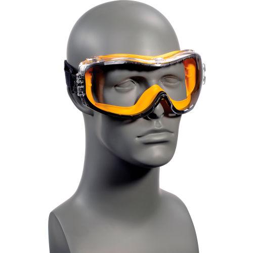 DeWalt DPG82-11 Concealer Safety Goggles Foam Lined Clear Lens