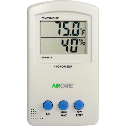 AIRCARE Hygrometer/Thermometer 1990 by