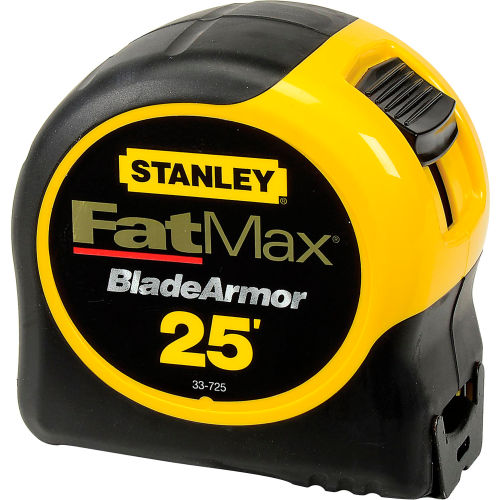 Stanley 33-725 FatMax Tape Rule W/BladeArmor Coating, 25