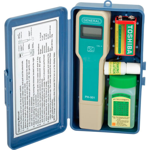 General Tools PH501 Pocket pH Meter by