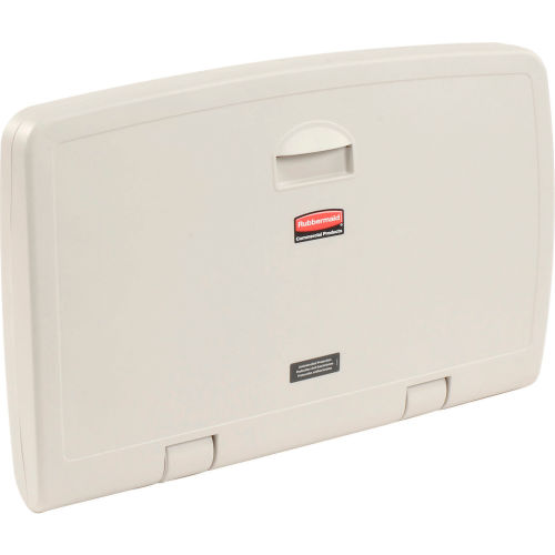 Rubbermaid Horizontal Baby Changing Station FG781888LPLAT by